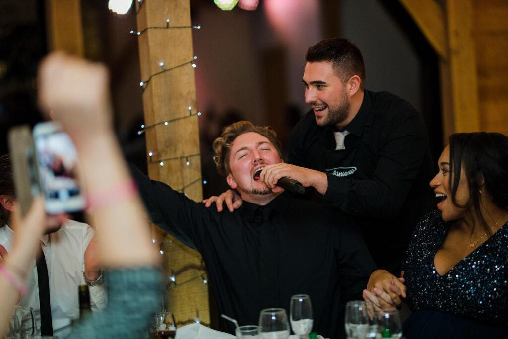 Yorkshire's top rated secret wedding singers