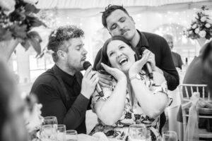 Secret Singing Waiters Leeds